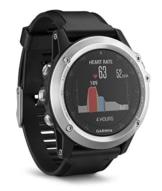 Garmin fenix 3 HR GPS-Multisport-Smartwatch - Herzfrequenzmessung am Handgelenk, zahlreiche Navigations- & Sportfunktionen, GPS/GLONASS -